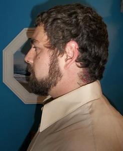 Gary St. Jock - face Left Side Beard