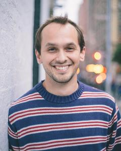 Nick Fehlinger - nicksweatersmiling8x10