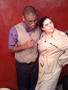 """Amos S Smith - Professor Plum and Detective """"Clue"""" the musical"""