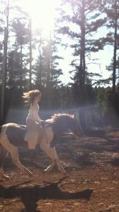 Danielle Gendron - Horseback