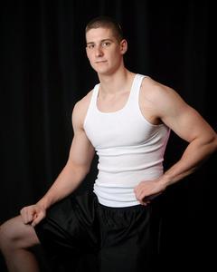 Nick Sammons - standing tank pose
