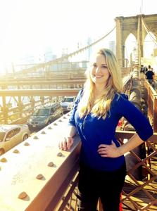 Melanie Rogers - Melanie at BK Bridge