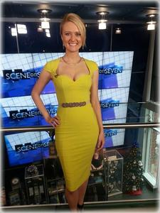 Debra Capps - Full Body Yellow Dress