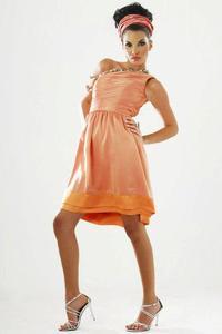 Angelica C. - Modeling Dress