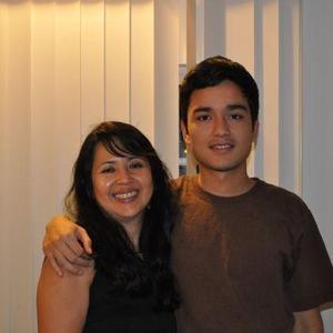 Carlo Samame - my mother