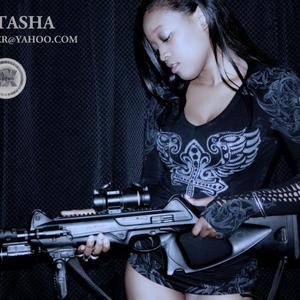 natasha campbell - gun sexy