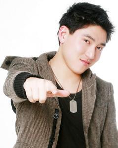 Joshua Chang - Smiling and Pointing