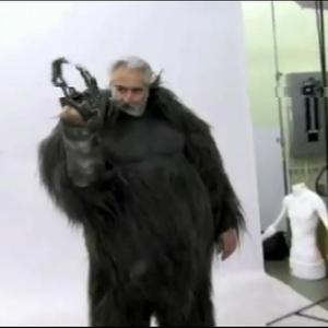 "Shannon Shea - Wearing the ""Robot Monster"" suit for Men In Black 3"