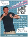 Blake Rice - CAMP DAVID POSTER 2.0