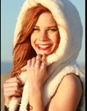 Courtney Hope - Courtney Hope White Fur2