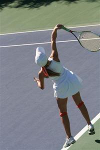 Claire Bryan - Tennis 1