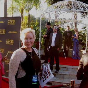 Dr. Diane Howard - Interviewing on Red Carpet at Moveguide Awards Gala, Hollywood