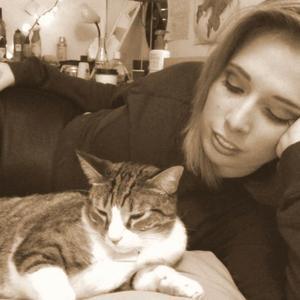 Rebecca Florence - Annnd, my cat.