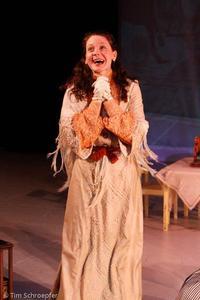 "Anne Elizabeth Butler - Production Shot: ""The Cherry Orchard"""