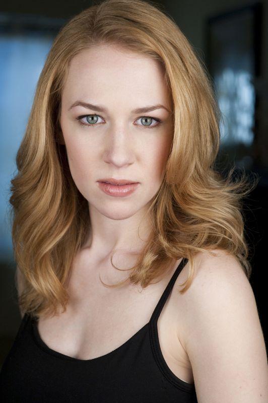 Megan Dobbertin, actor headshot