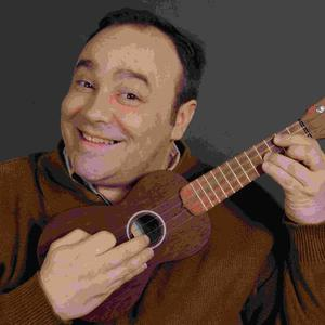 George Saulnier - with his ukulele