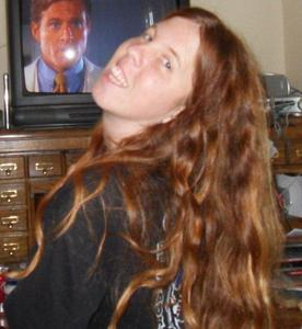 Samantha Davis - Quick Picture while watching TV