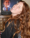 Samantha Davis - Quick Picture while watching TV