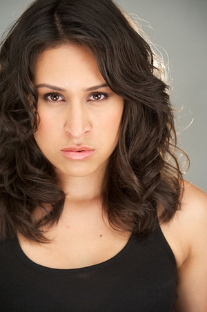 Jasmine Romero - Dark, Theatrical and TV headshot