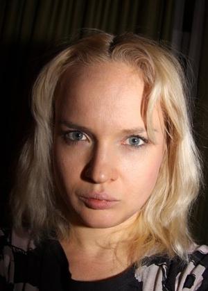 Anna Troyanskaya - autoportreit