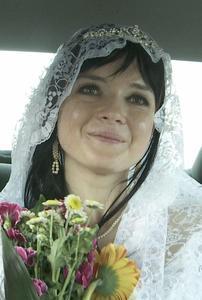 Anna Troyanskaya - black hair