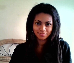 Danielle Whitfield - Myself, using a webcam