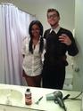 Danielle Whitfield - My boyfriend and I on Halloween