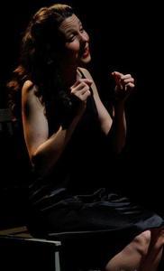 "Anne Elizabeth Butler - Production Shot-""The Adding Machine"""