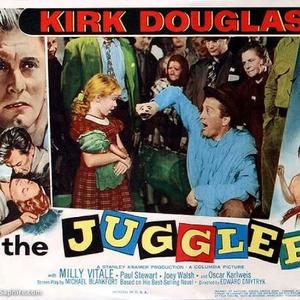 Rick Saphire - Beverly Washburn and Kirk Douglas in The Juggler