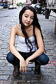 Samantha Belz - Crouched
