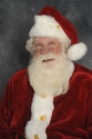 James Lewis - close up santa suit