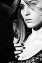 Christine Simko - fashion beauty b and w
