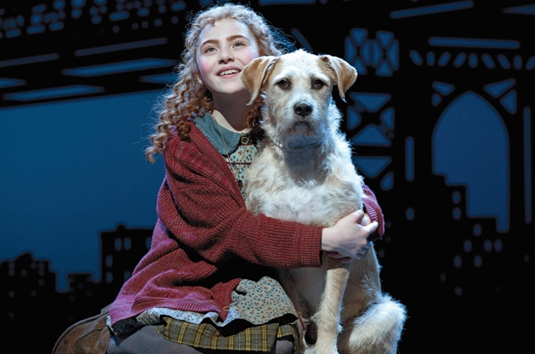 Inside Broadway and 'Annie' Give Back to Schoolchildren