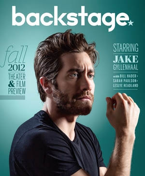 Jake Gyllenhaal in Backstage: Aug. 30, 2012