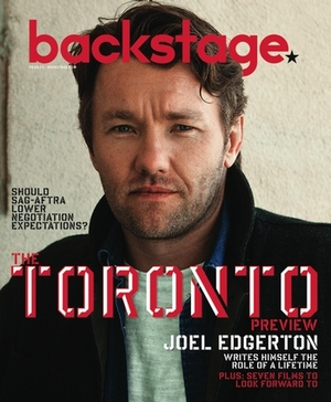 Joel Edgerton On the Cover of Backstage This Week!