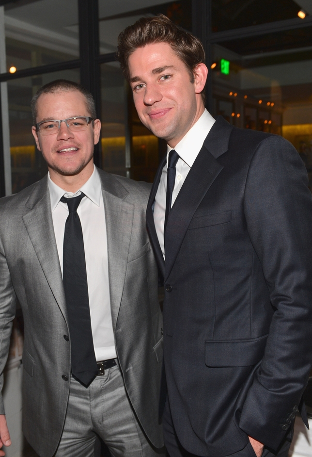 Matt Damon to John Krasinski: 'Get the F--- Out of Here' (Video)