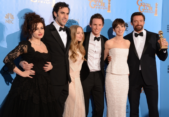 'Argo,' 'Les Miz' Big Film Winners at Golden Globes