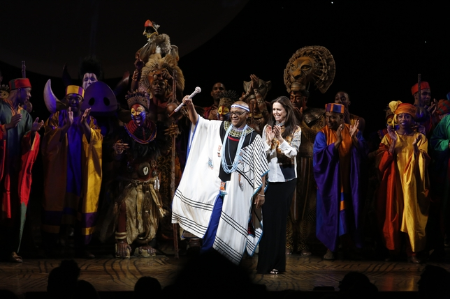 'The Lion King' On Broadway Celebrates 15th Anniversary (Slideshow)