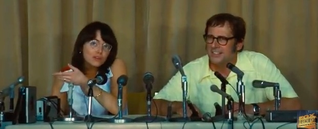 WATCH: Emma Stone + Steve Carell Duke it Out in 'Battle of the Sexes' Trailer