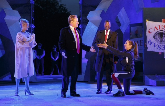 Shakespeare in the Park's Gregg Henry on Playing a Very Trumpian Julius Caesar