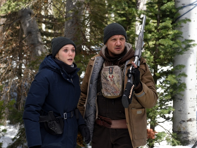 WATCH: Elizabeth Olsen & Jeremy Renner Team Up in 'Wind River' Trailer