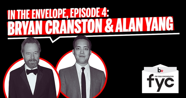 'In the Envelope' Behind-the-Camera Episode: Bryan Cranston and Alan Yang