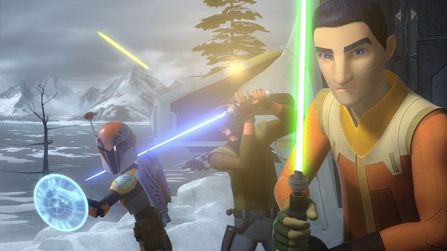 The Secret Behind Disney's Emmy-Nominated 'Star Wars: Rebels' Voice Performances