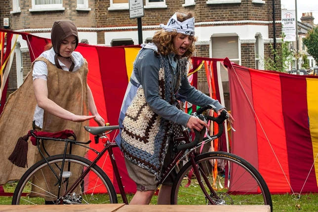 See the Bard From a Bike + More London Actor Events This Week