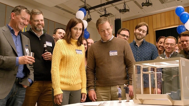 Matt Damon + Kristen Wiig Bite the Tiny Bullet in 'Downsizing' Trailer