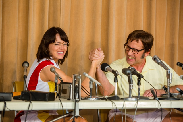Why Emma Stone + Steve Carell Acted 'From the Outside In' for 'Battle of the Sexes'