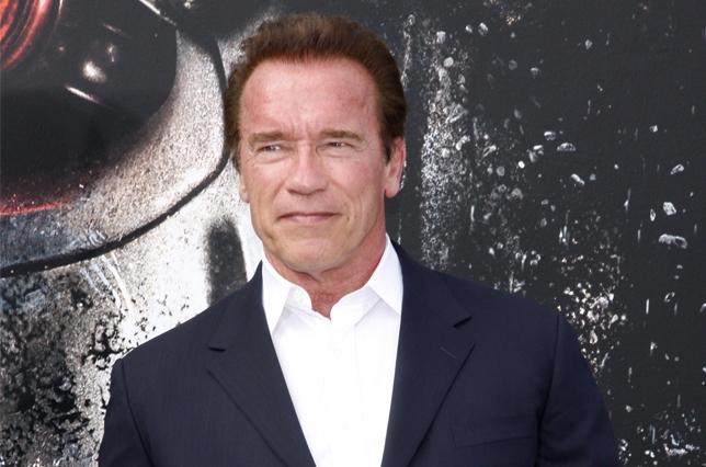 Schwarzenegger and Hamilton Revisit 'The Terminator'