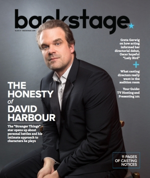 David Harbour Dives Deep for 'Stranger Things' Season 2