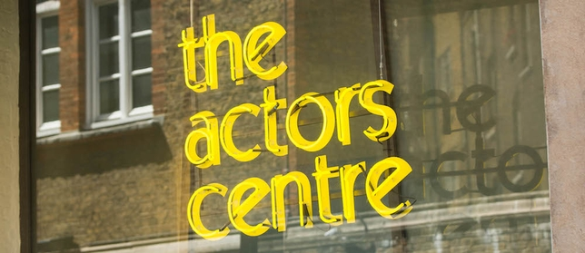 The Actors Centre to Offer Free Space + More U.K. Acting News