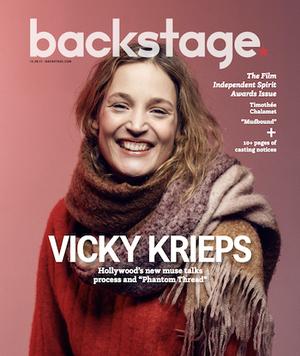 Vicky Krieps: The 'Phantom Thread' Scene Stealer Reveals Her Process